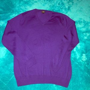 J Crew Men Purple Wool Jacket Large